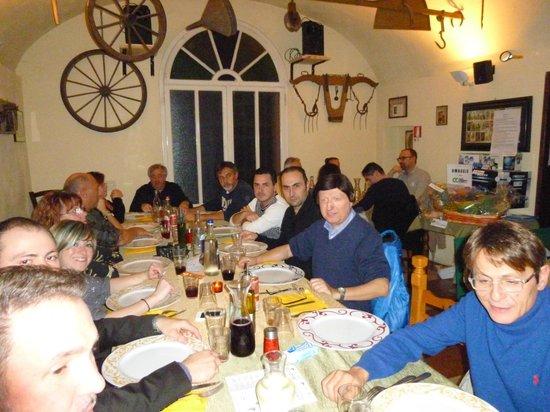 Osteria Villa San Donino: cena sociale novembre 2013