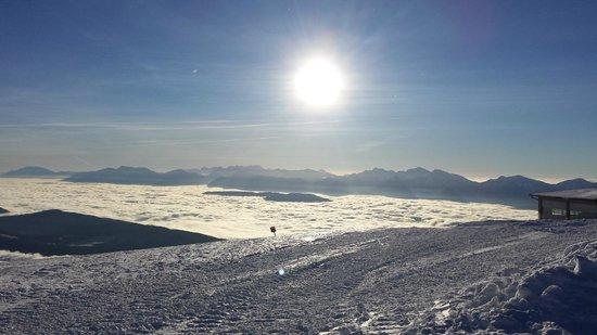 Almresort Gerlitzen Kanzelhöhe: Ski slope view