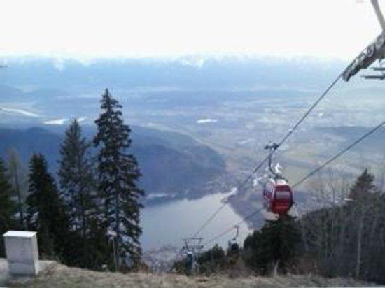 Almresort Gerlitzen Kanzelhöhe: The valley view