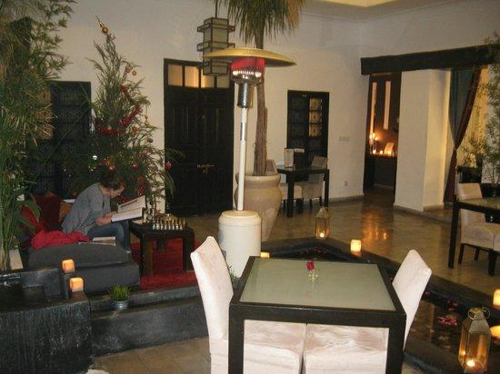 Riad Villa Wenge: Patio