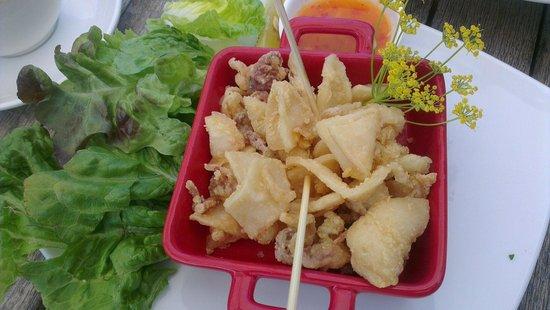 Olio Bello: Beautiful crispy fried squid