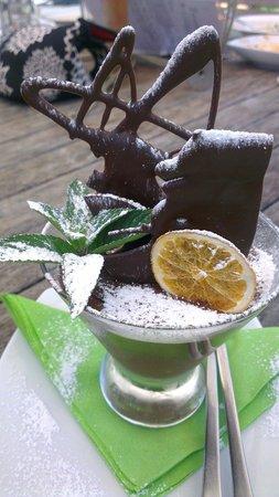 Olio Bello: Deliciously rich chocabella dessert