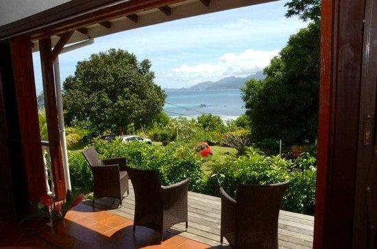 La Residence: sea view from Bunaglow(villa)