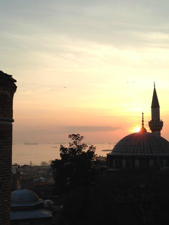Ada Hotel Istanbul : View from our room