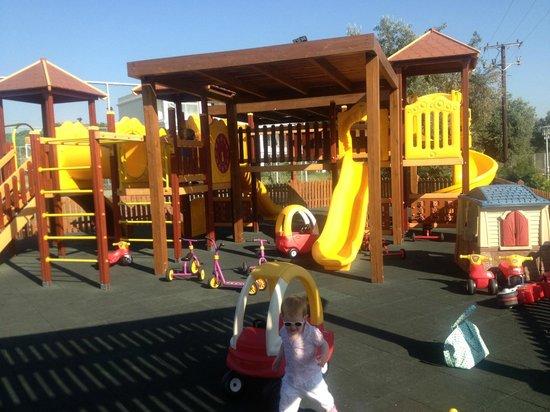 Levante Beach Resort: Kids play area (next to tennis courts)