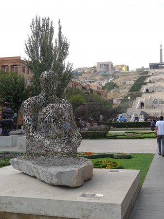 Yerevan Cascade : перед подъёмом