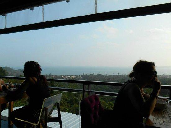 Mantra Samui Resort: View from breakfast