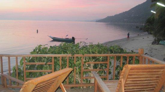 Blue Marine Resort : balcony