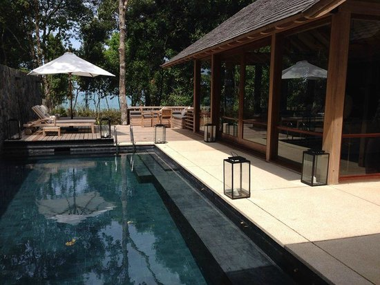 The Datai Langkawi: Beach Villa #6 Private Outdoor Pool