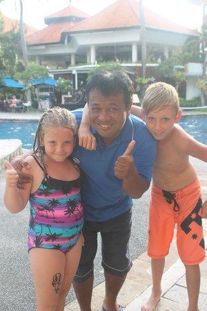 Sanur Paradise Plaza Suites : Camp Splash staff are wonderful