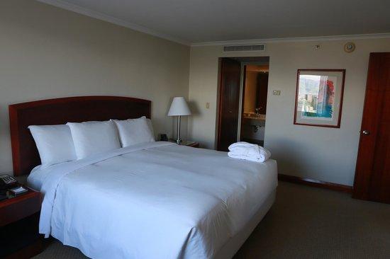 Hilton Colon Quito: Номер на 19-ом этаже