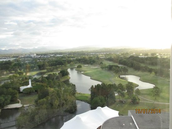 RACV Royal Pines Resort: View from room 1804