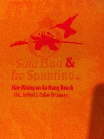 Sala Bua & Lo Spuntino Restaurant: Restaurang logo