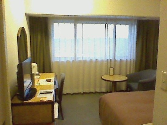 Narita View Hotel: 夕方の外観