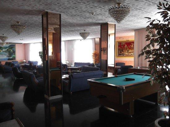 Hotel Continental: холл отеля Континенталь