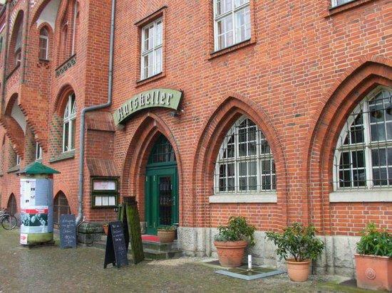 Ratskeller Kopenick: Eingang zum Ratskeller Köpenick