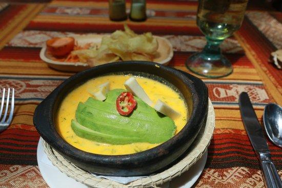 Hotel Patio Andaluz: Местный суп