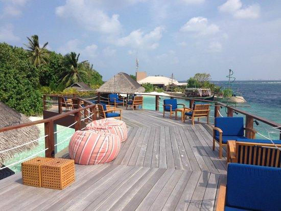 Adaaran Prestige Vadoo: Бар на острове