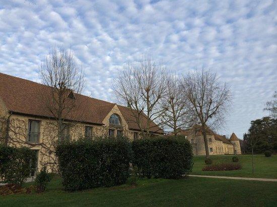 Chateau de Villiers le Mahieu: le parc