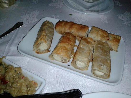 Ilhas Gregas: entrada deliciosa