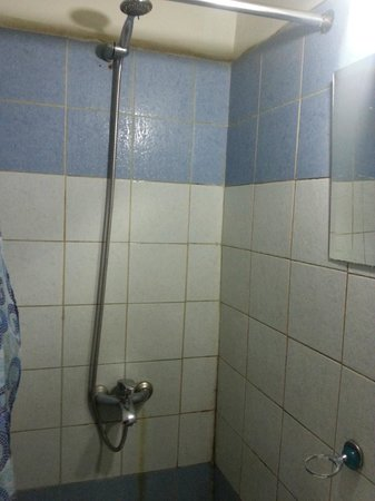 Egyptian Night Hotel: Shower
