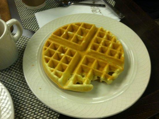 Hilton Garden Inn New York/West 35th Street: Waffle maker avail