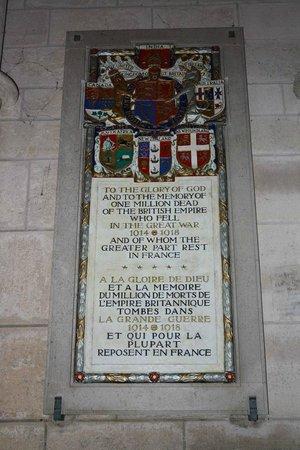 Cathédrale Notre-Dame de Laon : Herinnering aan de oorlog