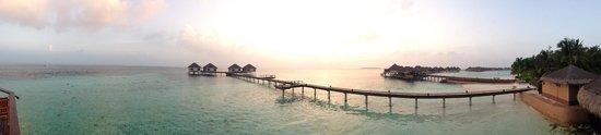 Adaaran Prestige Vadoo : Вид из бара на острове