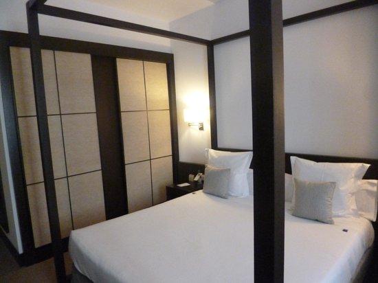 Hotel Molina Lario: letto