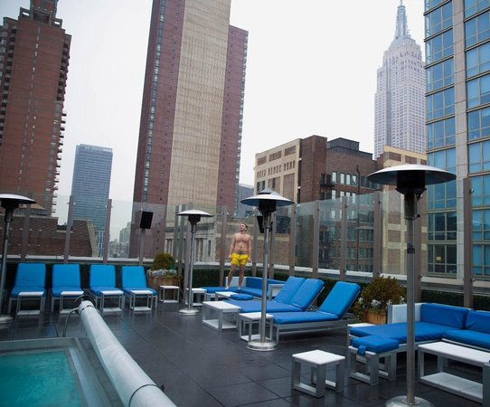 Gansevoort Park Avenue NYC : бассейн