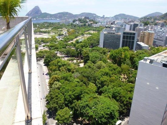 Windsor Astúrias Hotel: Vista do terraço
