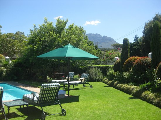 Van der Stel Manor: Garten