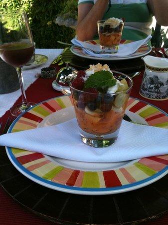 Van der Stel Manor : Frühstück