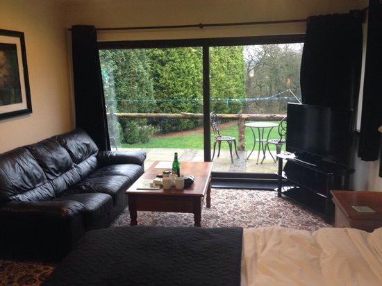 Foxwood Guest House: Lounge area