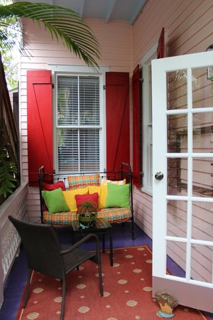 Key West Bed and Breakfast: Verandah