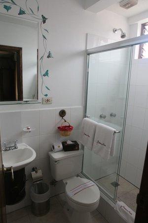 Morenica del Rosario Hotel: Ванная комната
