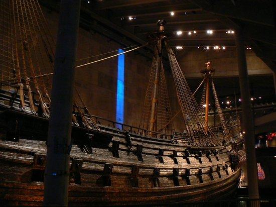 Vasa-Museum: The 'Vasa' ship at the Vasa Museum