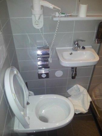 Hotel Vossius Vondelpark: bagno