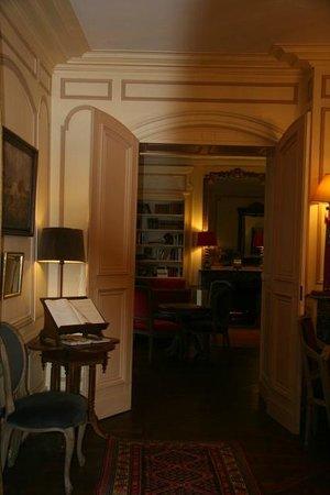 Hotel le Clos d'Amboise : Hall