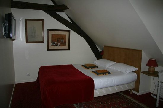 Hotel le Clos d'Amboise : Smaller room in the top floor
