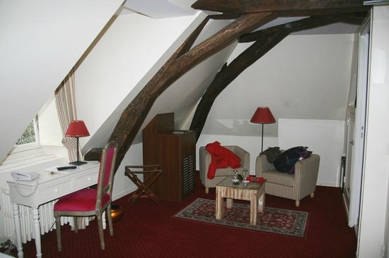 Hotel le Clos d'Amboise: Smaller room in the top floor