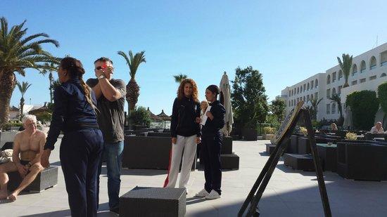 Vincci Nozha Beach Resort: Dart auf Tunesisch Animation