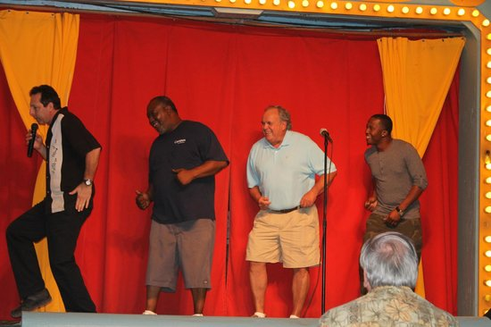 Jungle Queen Riverboat: Show after the BBQ