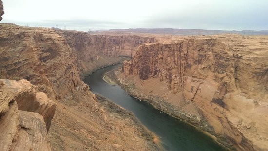 Glen Canyon Dam : Rio Colorado