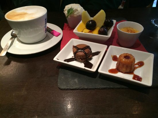 Le Progres The Bohemians Canteen: Cafe Gourmand at Le Progres