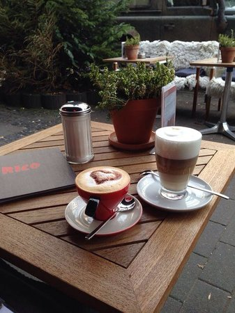 Cafe RICO: So muss Kaffee aussehen��❗️