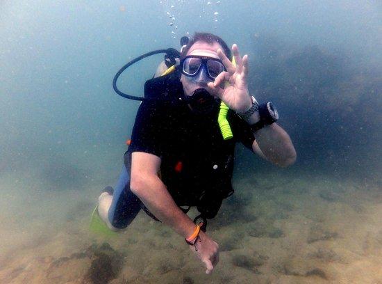 Me a Advanced Open Water Diver Thanks Pattaya Dive Centre