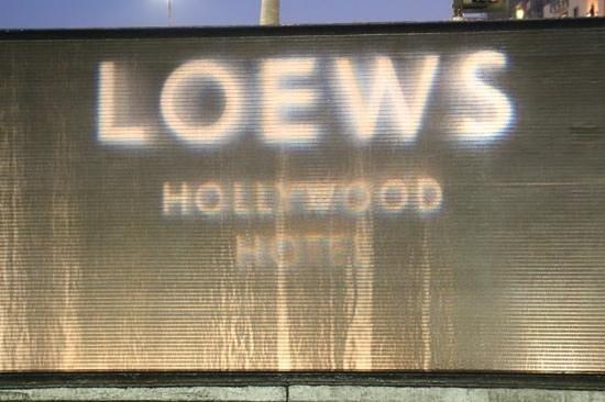 Loews Hollywood Hotel: Fachada