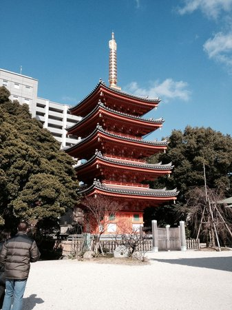 Tochoji Temple: Pagoda
