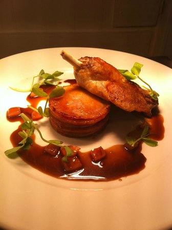 Ye Olde George Inn: Sample dish